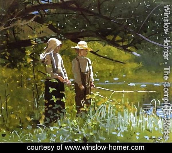 Winslow Homer - Fishing I