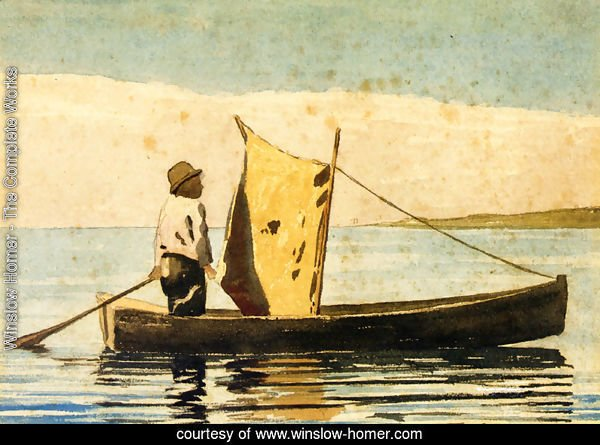 Boy In a Small Boat