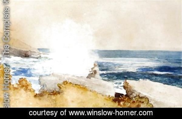 Winslow Homer - Watching the Surf