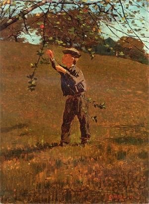 Winslow Homer - Green Apples