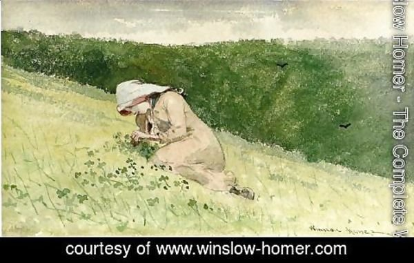 Winslow Homer - Four Leaf Clover