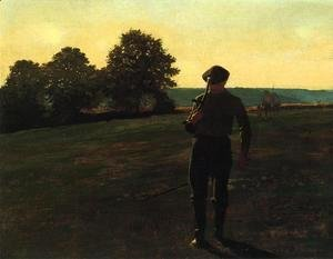 Winslow Homer - Man with a Sythe
