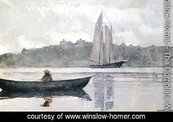 Winslow Homer - Reflections