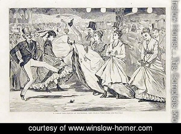 Winslow Homer - Dancing at the Mabille Paris