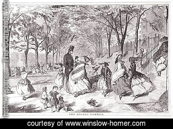 Winslow Homer - The Boston Common