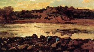 Winslow Homer - Lobster Cove, Manchester, Massachusetts