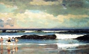 Winslow Homer - On the Beach, Long Branch, New Jersey