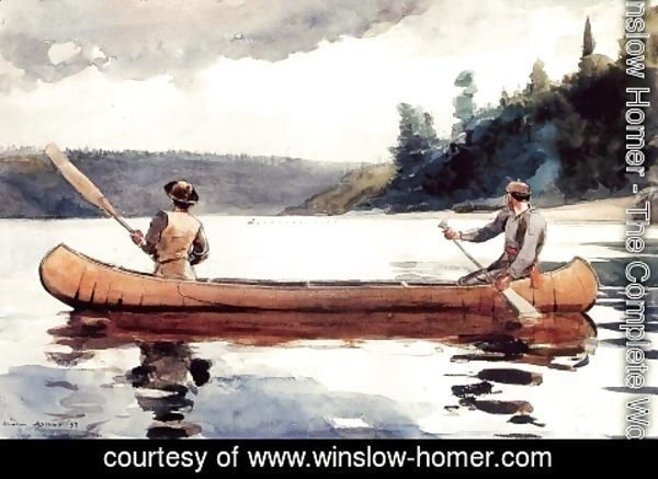 Winslow Homer - Young Ducks
