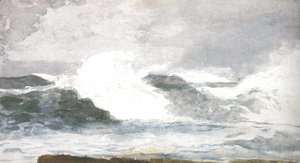 Winslow Homer - Surf At Prout's Neck 1895