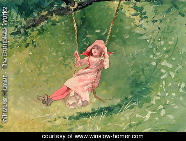Girl on a Swing 2