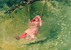 Winslow Homer - Girl on a Swing 2