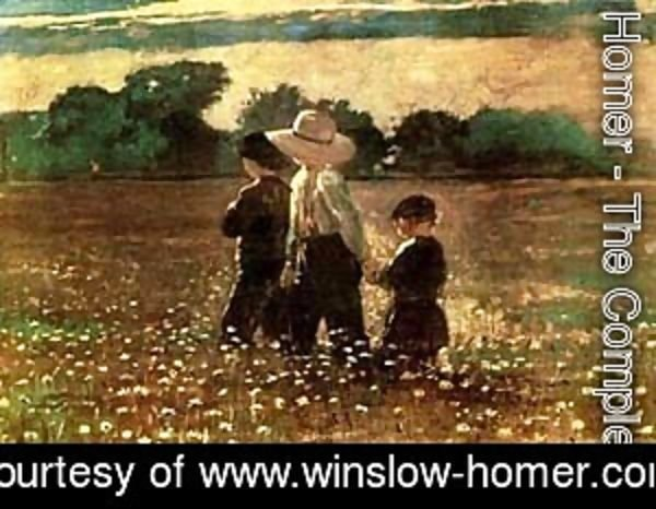 Winslow Homer - In the Mowing