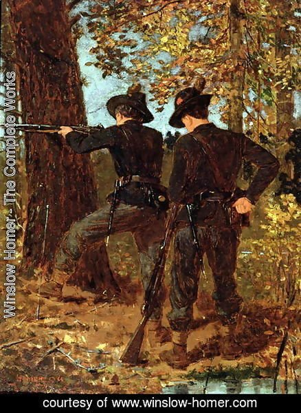Winslow Homer - The Sharpshooters
