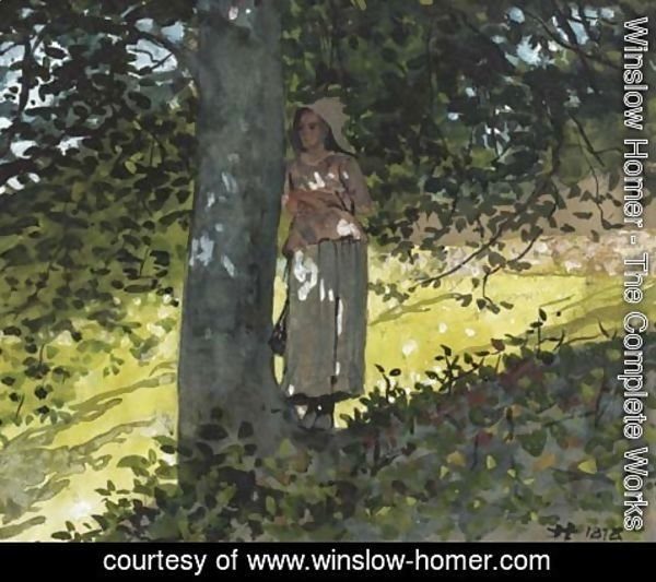 Winslow Homer - A Shady Spot, Houghton Farm