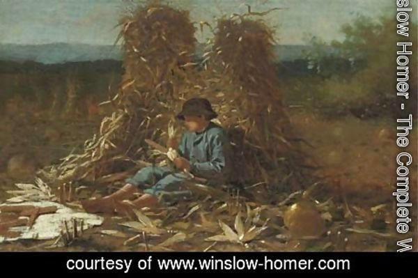 Winslow Homer - The Last Days of Harvest 2