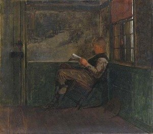 Winslow Homer - Young Man Reading