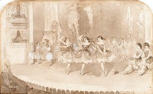Winslow Homer - The ballet at Niblo's garden, New York