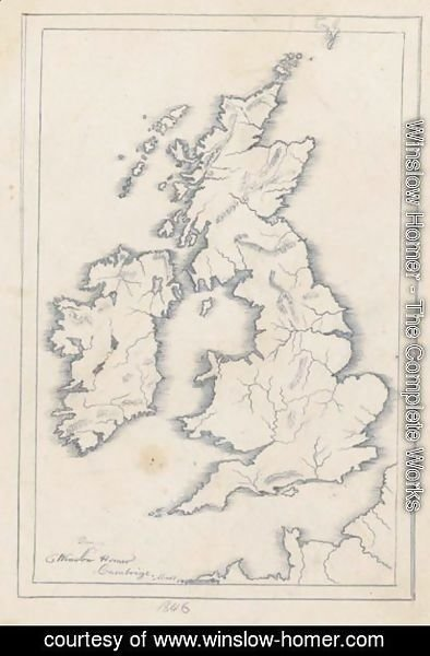 Map Of Great Britian