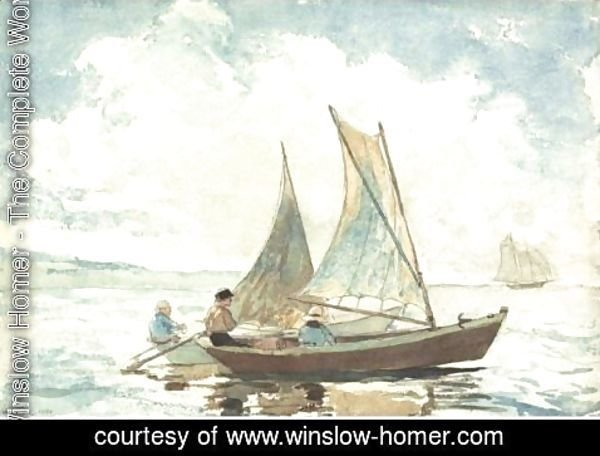 Winslow Homer - Boys In A Boat