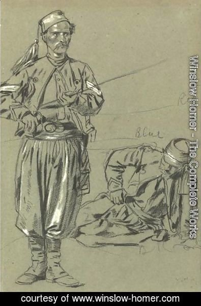 Winslow Homer - Two Zouaves
