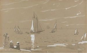 Winslow Homer - Sailboats