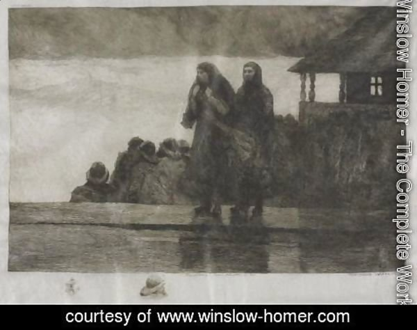 Winslow Homer - Perils Of The Sea 2