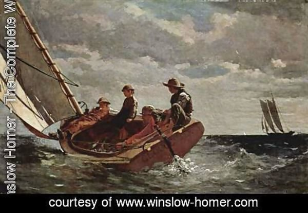 Winslow Homer - It freshens up