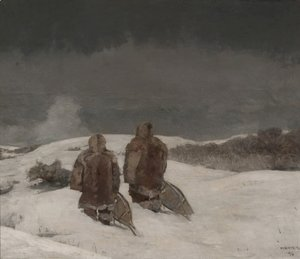 Winslow Homer - Below Zero