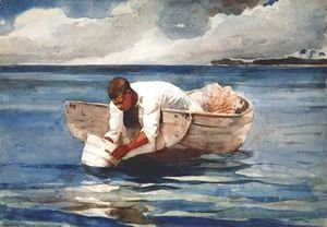 Winslow Homer - The water fan