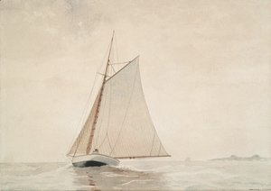 Winslow Homer - Sailing off Gloucester