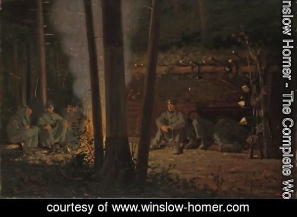 Winslow Homer - In Front of Yorktown