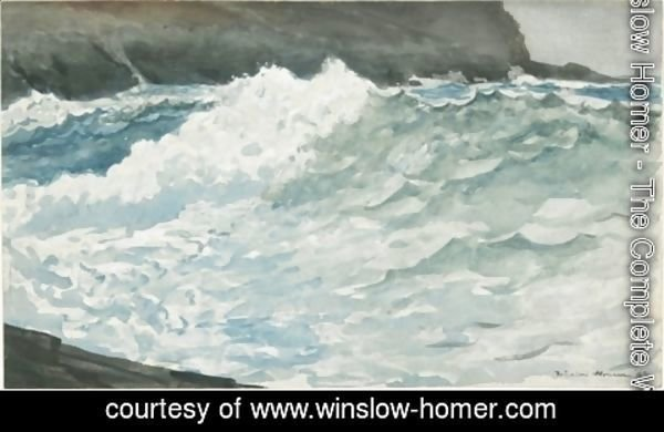 Winslow Homer - Surf, Prout's Neck